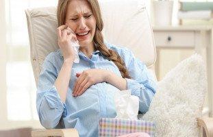 تأثير بكاء الحامل على الجنين