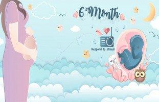 أعراض الحمل في الشهر السادس بولد أو بنت (غذاء الحامل في الشهر السادس)