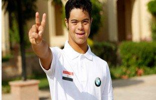 محمد الحسيني أول ناطق باسم لجنة الأمم المتحدة من متلازمة داون