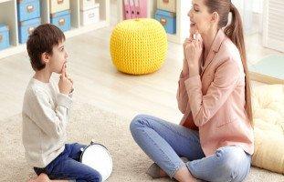 أسباب مشاكل النطق عند الأطفال