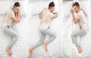 تأثير وضعية النوم على الصحة