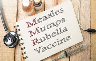 تطعيم الحصبة والنكاف والحصبة الألمانية MMR