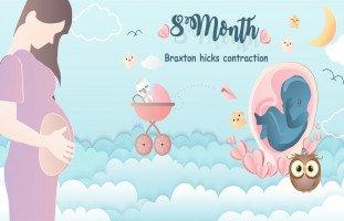 الشهر الثامن من الحمل بالتفصيل (أعراض الحمل في الشهر الثامن ببنت أو ولد)