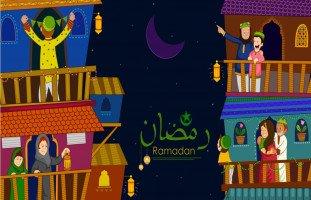 العلاقات الاجتماعية في شهر رمضان