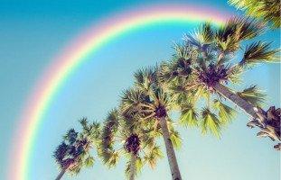 تأثير ألوان قوس قزح على شخصيتك | حلوها
